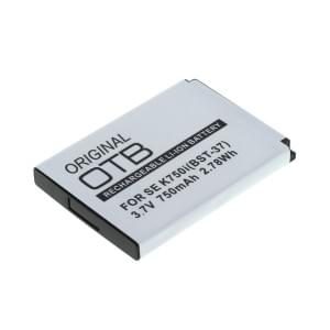 Ersatzakku für Sony Ericsson ersetzt BST-37 Li-Ion