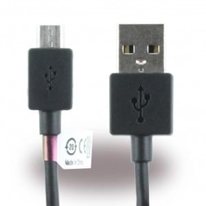 Original Sony - EC801 / EC803 - Micro USB Datenkabel - 1m > Schwarz