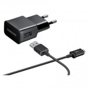 Original Samsung Netzteil / Ladekabel / Ladegerät Micro USB ETAU90EBE Schwarz 2000mAh