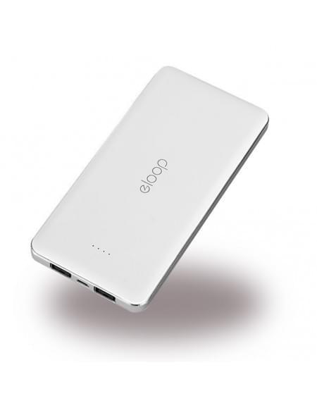 eloop - Powerbank / Externer Akku - Micro-USB - Weiß - 13000mAh