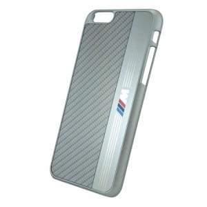 BMW - Signature Aluminium BMHCP6MES - Hardcover / Hard Case / Handyhülle - Apple iPhone 6 - Silber