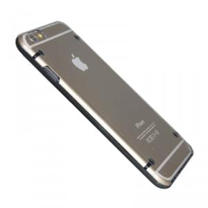 Hart Cover / Case / Schutzhülle - Apple iPhone 6 / 6S - Transparent Schwarz