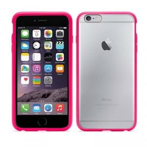 Griffin - GB40030 Reveal - Hart Cover / Case / Schutzhülle - Apple iPhone 6 Plus - Hot Pink / Transparent