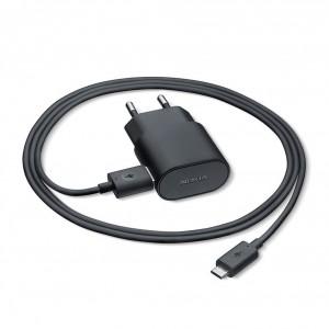 Nokia AC-60E Netzteil / Ladekabel / Ladegerät - Micro USB - Schwarz - 1500mA
