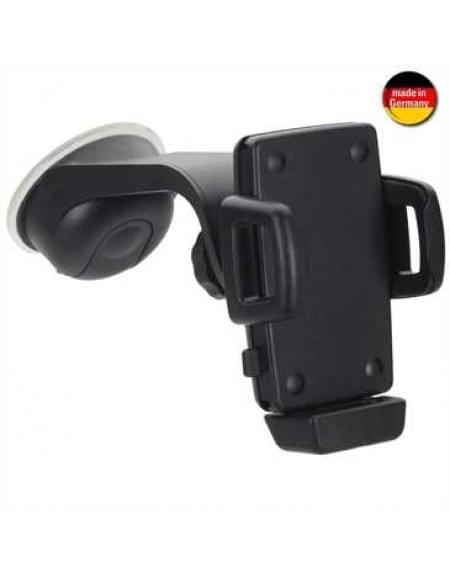 XiRRiX KFZ-Halter mit Ladeoption für Geräte von 56 - 85 mm inkl. 5 Kabeladapter (Made in Germany)