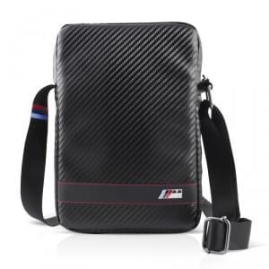 BMW - M Carbon Effect Stripe - Travel Bag / Tasche - 9 bis 10 Zoll - Schwarz