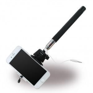Selfie Stick/Stab - Ausziehbar - Universal > Schwarz