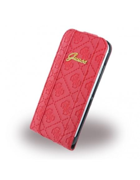 Guess - Scarlett GUFLP6SCRE - Flip Case / Hülle / Handytasche - Apple iPhone 6, 6S - Rot