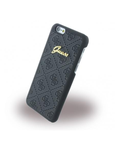 Guess - GUHCP6SCBK Scarlett - Hard Cover / Case / Schutzhülle - Apple iPhone 6, 6s - Schwarz