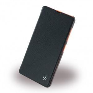 Dolce Vita - Book Tasche / Hülle / Case - Microsoft Nokia 535 - Schwarz
