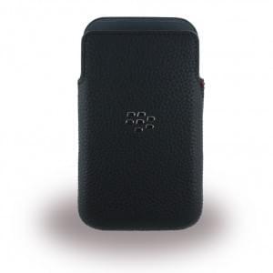BlackBerry - ACC-60088-001 - Leder Etui/Tasche/Case - Classic - Schwarz