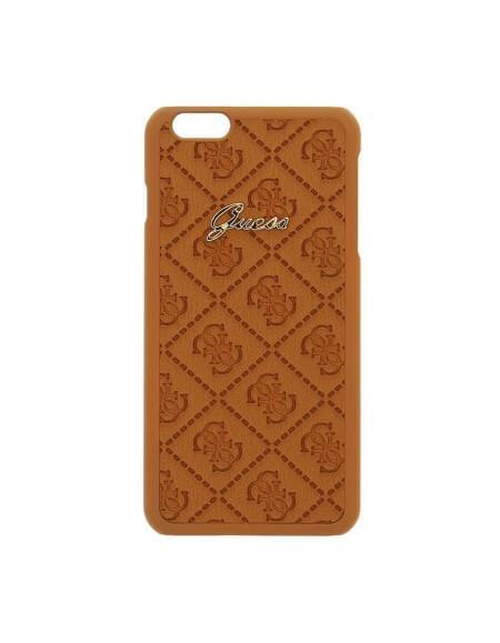 Guess - Scarlett Collection - Hart Cover/Case/Schutzhülle - Apple iPhone 6 Plus - Cognac