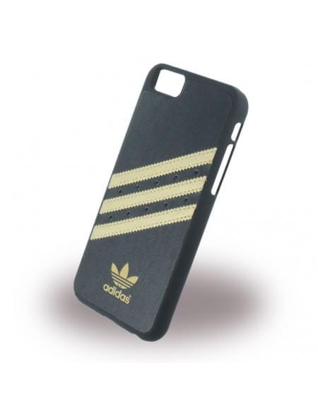 Adidas Basics - Hard Cover / Case / Schutzhülle für Apple iPhone 6,6s - Schwarz / Gold