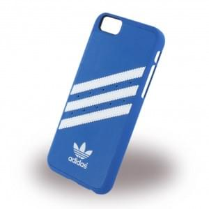 Adidas Moulded - Hard Cover / Case / Schutzhülle - Apple  iPhone 6,6s - Blau/Weiss