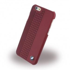 BMW - BMHCP6PER Signature Perforated Leder - Hard Cover/Case/Schutzhülle - Apple iPhone 6 - Rot