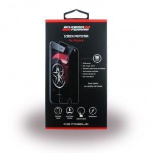 Ferrari FETGP6TR - Tempered Glass Displayschutz - Apple iPhone 6, 6s