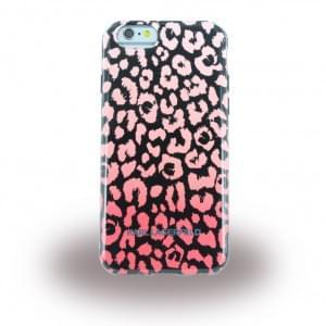 Karl Lagerfeld KARL0017 Kamouflage TPU Cover / Case / Schutzhülle Apple iPhone 6, 6S  Pink / Schwarz