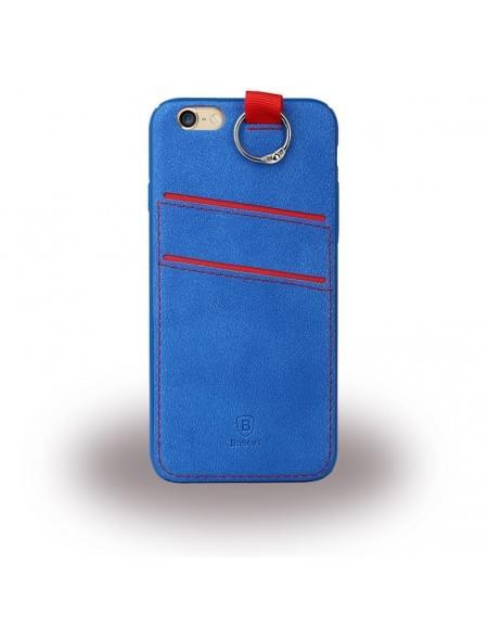 Baseus LRAPIPH6SP-03 Lange - Hard Cover/ Handyhülle - Apple iPhone 6 Plus, 6s Plus - Blau