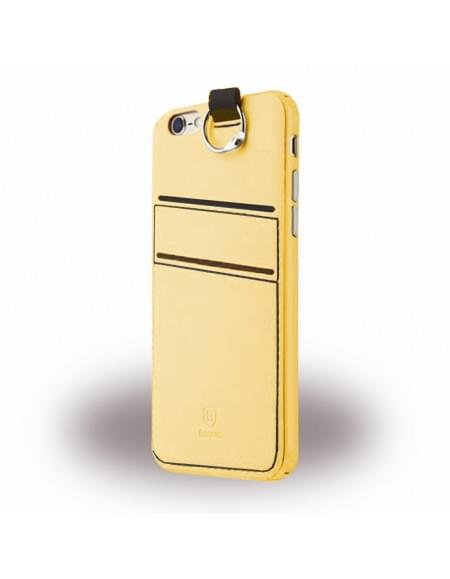 Baseus LRAPIPH6SP-0Y Lange - Hard Cover/ Handyhülle - Apple iPhone 6 Plus, 6s Plus - Gelb