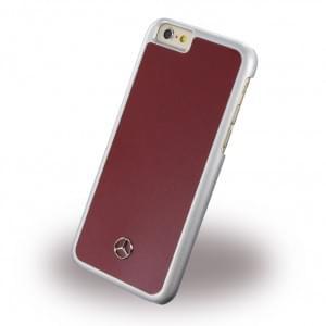 Mercedes-Benz MEHCP6RE - Dynamic Metallic Plate Hard Cover/ Case/ Schutzhülle - Apple iPhone 6/6S - Rot