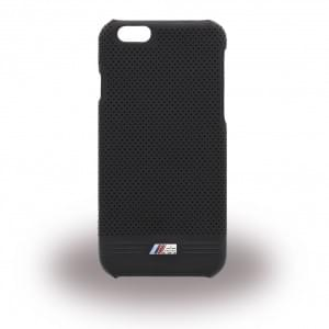 BMW BMHCP6MPEBIC M Adrenaline - Perforated Leather - Hard Cover/ Case/ Schutzhülle - Apple iPhone 6/6s - Schwarz