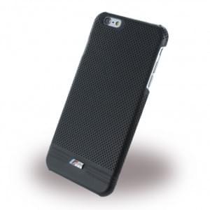 BMW BMHCP6LMPEBIC M Adrenaline - Perforated Leather - Hard Cover/ Case/ Schutzhülle - Apple iPhone 6 Plus/6s Plus - Schwarz