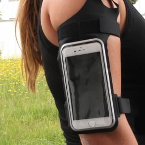 CYOO - Sport Armband / Armbandtasche - Apple iPhone 6, 6s, 7 - Schwarz