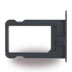 Ersatzteil - SIM Karten Fach für Apple iPhone 5, 5s - Schwarz