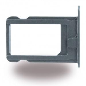 Ersatzteil - SIM Karten Fach für Apple iPhone 5s - Grau