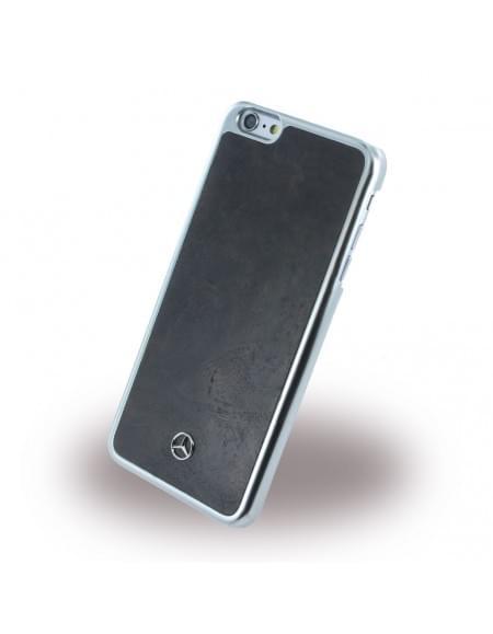 Mercedes Benz - MEHCP6LPOBK - Holz Hard Cover/ Case/ Schutzhülle - Apple iPhone 6 Plus, 6s Plus - Schwarz