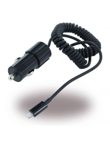 UUnique MFI (Made for iPhone) - UUIP5CC02 - Kfz-Ladekabel auf Lightning - 1000 mAh - Schwarz