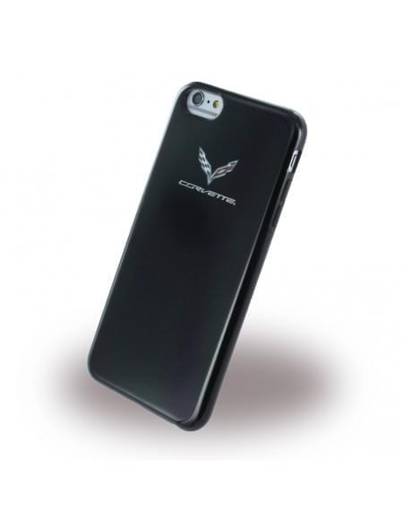 Corvette - COBUP6BL - TPU Case / Silikon Cover / Schutzhülle - Apple iPhone 6 Plus, 6s Plus - Schwarz