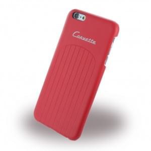 Corvette - COHCP6LCLRE - C1 Club - Kunstleder Hard Cover / Case / Schutzhülle - Apple iPhone 6 Plus, 6s Plus - Rot