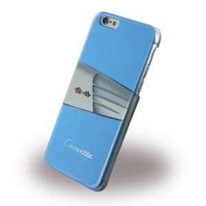 Corvette C1 Classic - Leder Hard Cover / Case / Schutzhülle - Apple iPhone 6 Plus, 6s Plus - Light Blue