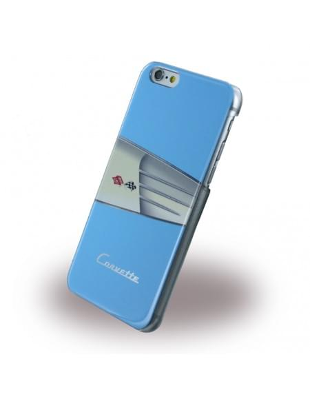 Corvette - COHCP6LWILB - C1 Classic - Leder Hard Cover / Case / Schutzhülle - Apple iPhone 6 Plus, 6s Plus - Light Blue