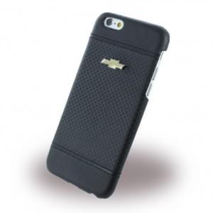 Chevrolet Debossed Dots - Kunstleder Hard Cover / Case / Schutzhülle - Apple iPhone 6 Plus, 6s Plus - Schwarz