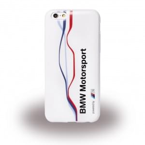 BMW - BMHCP6TWSW Raceway Twisted Tricolour - TPU Cover / Case / Handyhülle - Apple iPhone 6, 6s - Weiss