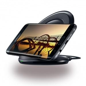 Samsung - EP-NG930BB Induktives Ladegerät mit Schnellladefunktion Galaxy S7, S7 Edge Schwarz