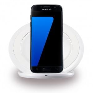Samsung - EP-NG930BW Induktives Ladegerät mit Schnellladefunktion Galaxy S7 / S7 Edge Weiss