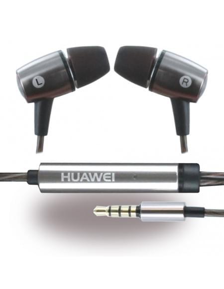 Huawei - AM12 Gun Metal - Stereo Headset - 3,5mm Anschluss - Silber