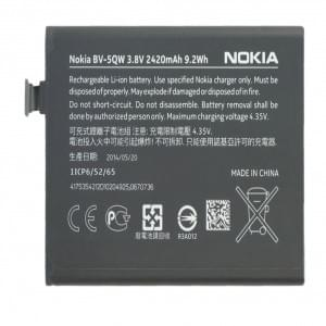 Original Nokia BV-5QW Li-ion Akku für Lumia 930 - 2420mAh