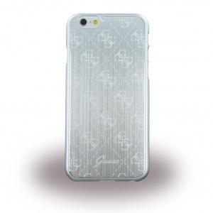 Guess - 4G Metallic GUHCP6MESI - Hard Cover  / Case / Schutzhülle - Apple iPhone 6, 6s - Silber