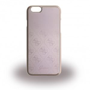 Guess - 4G Metallic GUHCP6MEPI - Hard Cover / Case / Schutzhülle - Apple iPhone 6, 6s - Pink