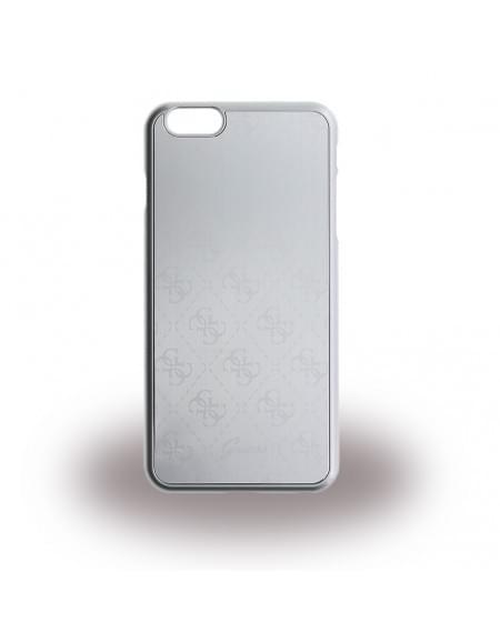 Guess - 4G Metallic GUHCP6LMESI - Hard Cover / Case / Schutzhülle - Apple iPhone 6 Plus, 6s Plus - Silber