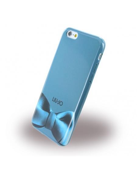 Liu Jo - Crystal Ribbon Soft Case LJ6RIBBONG - Silikon Case / Schutzhülle - Apple iPhone 6, 6s - Türkis