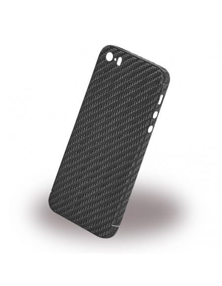 nevox CS 1398 - Carbon Hardcover / Hardcase/ Handy Hülle - Apple iPhone SE - Schwarz