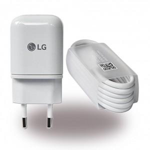 Original LG MCS-H05 / MCS-H06 USB Netzteil + Ladekabel USB auf USB Typ C Weiss