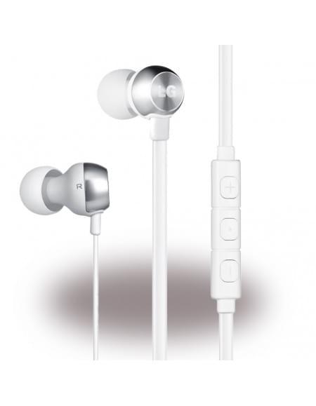 LG Electronics - HSS-F530 QuadBeat 2 - Stereo In-Ear Headset - 3,5mm Anschluss - Weiss