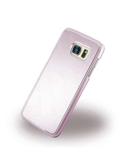 Guess - 4G Metallic GUHCS7EMEPI - Hard Cover / Case / Schutzhülle - Samsung G935F Galaxy S7 Edge - Rose Gold