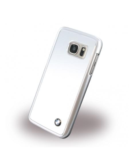 BMW - BMHCS7MBS - Brushed Aluminium - Hardcover / Case / Handyhülle - Samsung G930F Galaxy S7 - Silber
